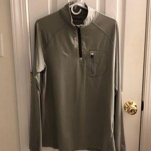 Reebok 1/4 Zip Athletic Pullover.